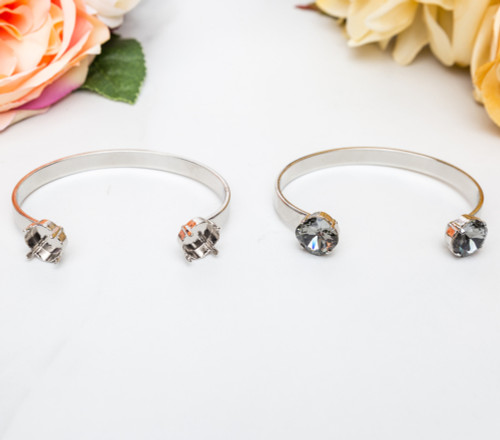 Two Setting Cuff Bracelet