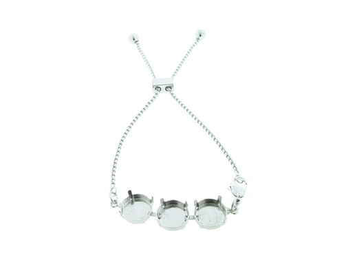 Three Setting Adjustable Slider Anklet view 2