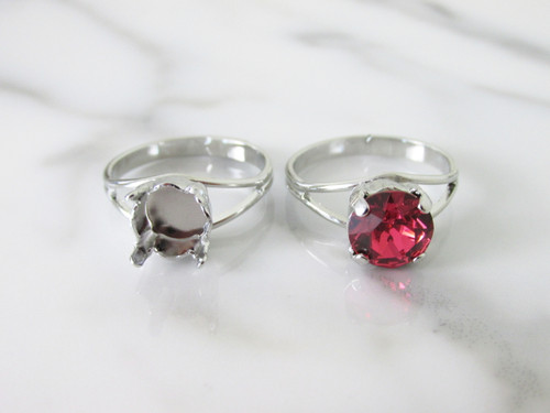 8.5mm (39ss) Classic Band Adjustable Ring