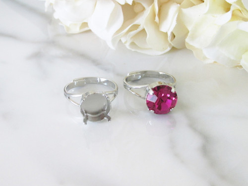 11mm Classic Band Adjustable Ring