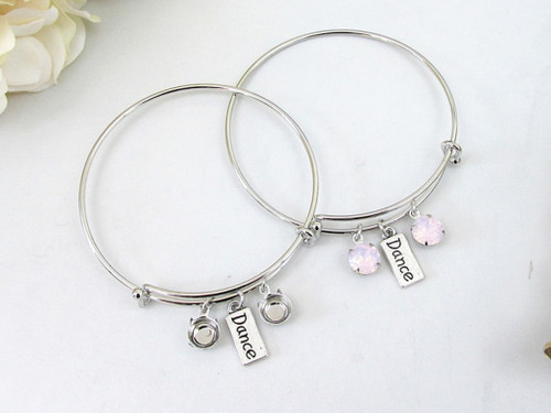 8.5mm | Dance Charm Bangle Bracelet | One Piece