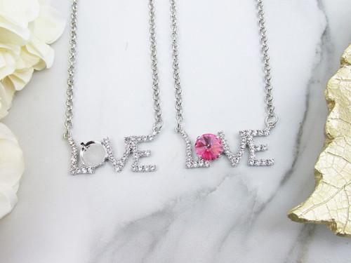 12mm Round | Love Necklace | One Piece