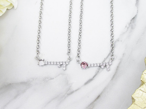 6mm | Key To My Heart Necklace | One Piece
