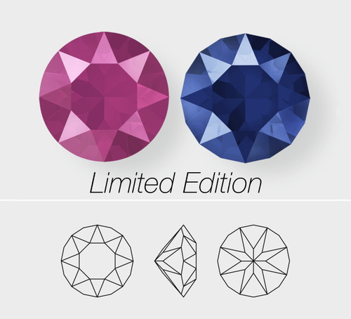 8.5mm | LIMITED EDITION Chaton | Swarovski Article 1088 | 12 Pieces