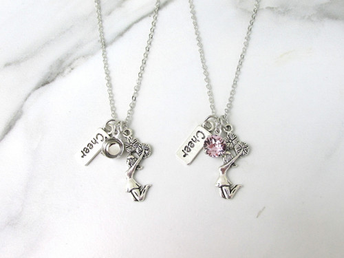 8.5mm | Cheerleader & Cheer Charm Necklace | One Piece