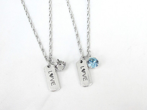 8.5mm | Love Charm Necklace | One Piece