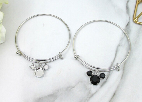 6mm & 11mm | Boy Mouse Bangle Bracelet | One Piece