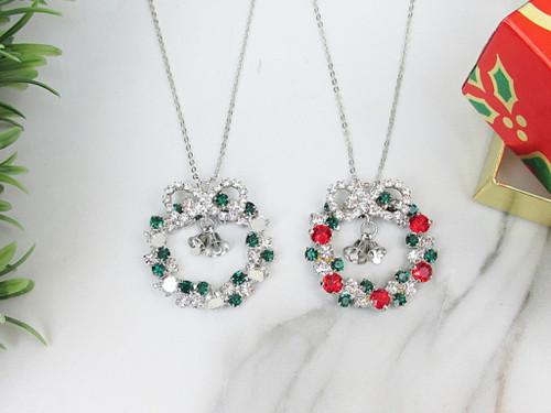 6mm | Wreath Crystal Rhinestone Necklace | One Piece