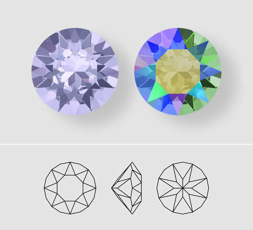 8.5mm | Chaton | Swarovski Article 1088 | Different Quantities Available