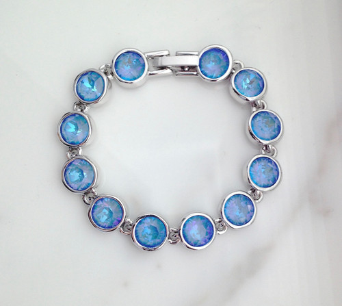 The Calypso Bracelet made with Swarovski Crystals