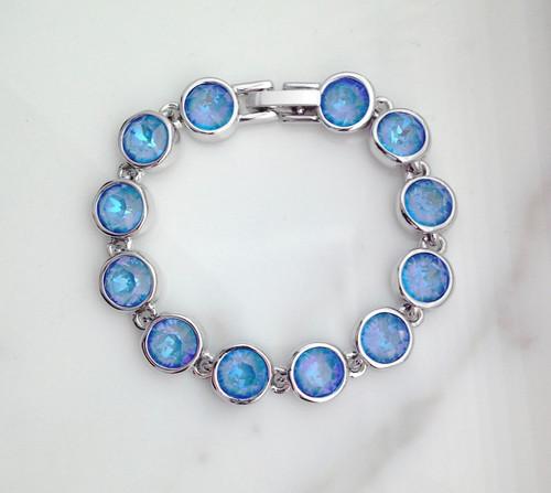 The Calypso Bracelet made with Swarovski Crystals