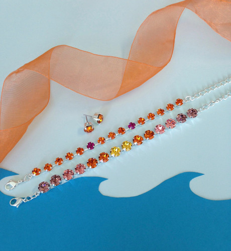 Tangerine Dreams Jewelry Set