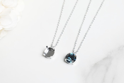 11mm | Single Pendant On Necklace Chain | One Piece