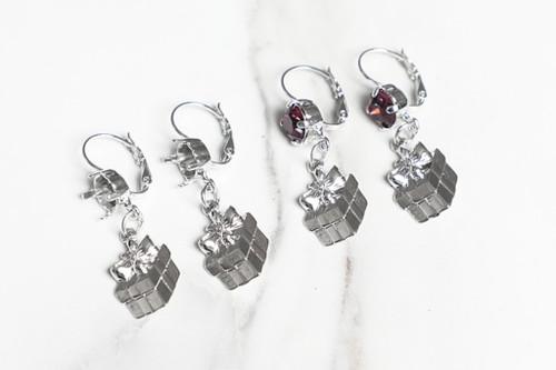 8.5mm | Present Gift Drop Earrings | One Pair