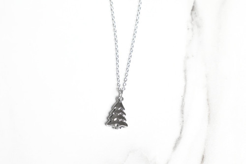 Christmas Tree Charm Necklace | One Piece