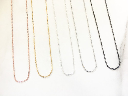 Delicate Necklace Chain | One Piece