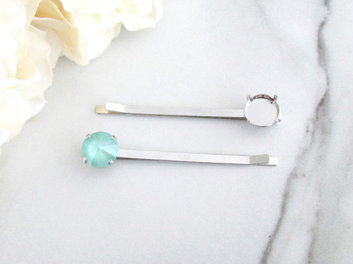 12mm Round | One Setting Bobby Pin | One Piece