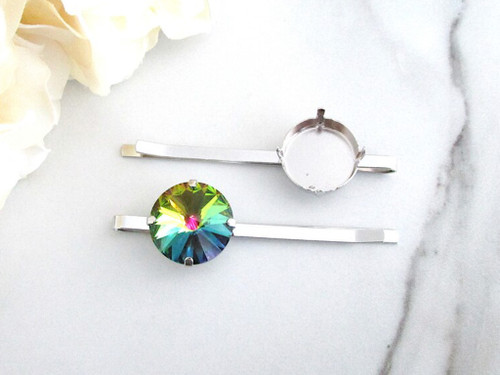 18mm Round | One Setting Bobby Pin | One Piece
