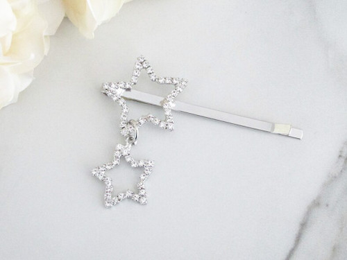 Shooting Star Crystal Bobby Pin | One Piece