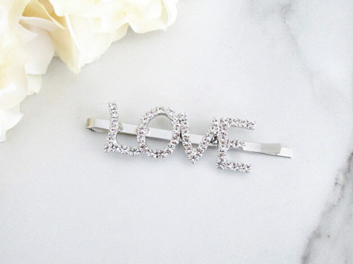 Love Crystal Bobby Pin | One Piece