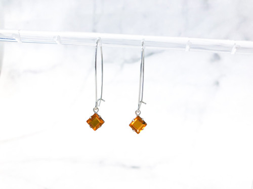 Topaz Jewelry Set made with Swarovski Crystals