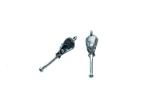 Lacrosse Stick Charm 5 Pieces Per Pack