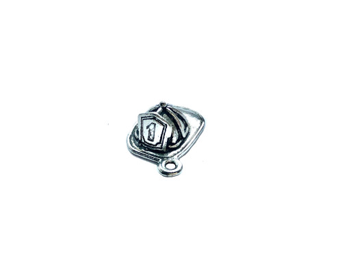 Firefighter Hat Charm 4 Pieces Per Pack