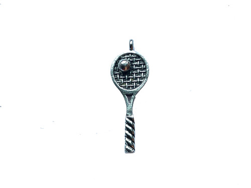 Tennis Racket Charm 5 Pieces Per Pack