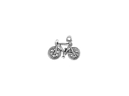 Bicycle Charm 3 Pieces Per Pack