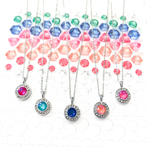 DeLite 5 Necklace Bundle made with Swarovski Crystals