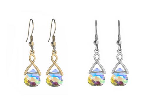 Tears of Sansa Earrings made with Swarovski Crystals