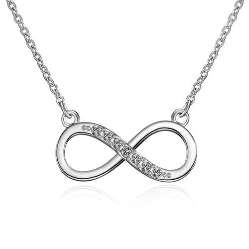 Infinity Necklace, detail