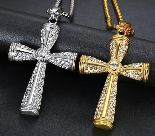 Fancy Cross Necklace