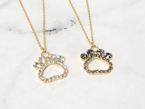 Paw Print Necklaces | 2 Pieces