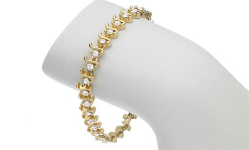 Chrissy Bracelet   Silver or Gold