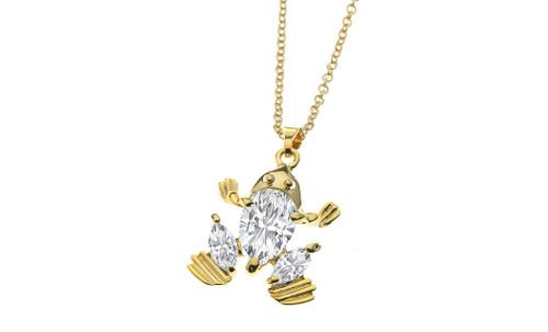 Princess Frog Necklace