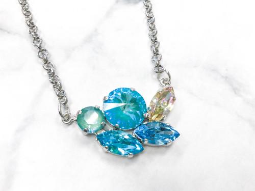 Laguna Cluster Necklace