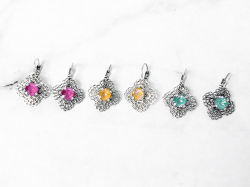 3 Pairs | Limited Edition Filigree Earrings | Finished