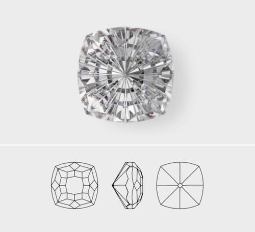 10mm | Mystic Square | Swarovski Article 4460 | 3 Pieces