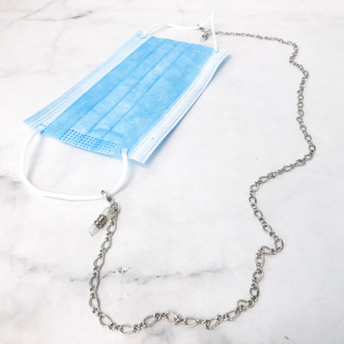 Fancy Chain Mask Holder / Convertible Necklace