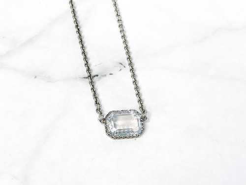 Limited Edition | Crystal Ignite Crown Octagon Necklace | Finished