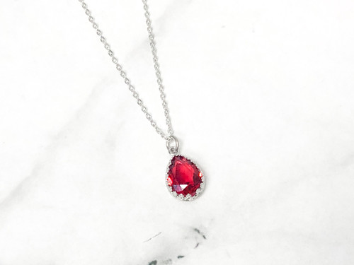 Scarlet Ignite Crown Necklace | Finished