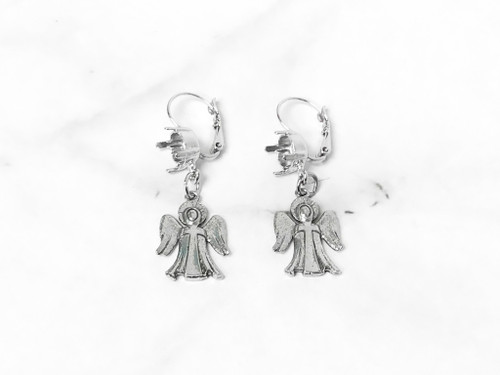 8.5mm | Angel Drop Earrings | One Pair