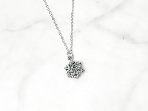 Fancy Snowflake Charm Necklace | One Piece