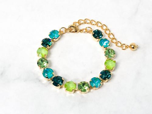 Emerald Amazon Bracelet