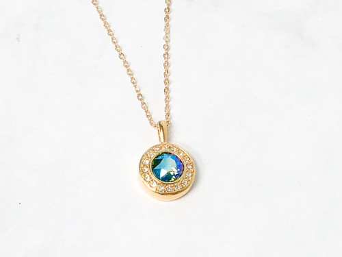 Erinite Shimmer Luminous Necklace