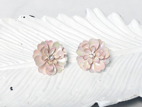 Charming Charlie Statement Floral Studs
