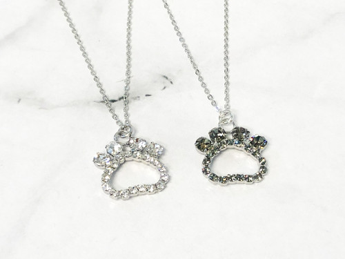 Paw Print Necklaces | 2 Necklaces
