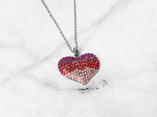 Statement Heart Necklace