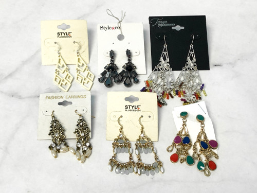 Assorted Dangle Earrings | 6 Pairs